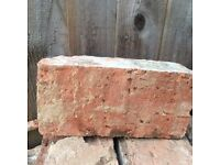 Reclaimed 1930s bricks available now