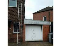 Aluminium Ladders 2 section 8 metre reach.....offers welcome