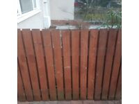 4ft high fence by 40ft long