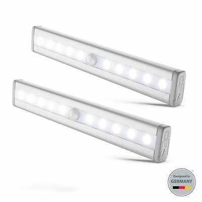 LED Unterbauleuchte Küche Lampe Schrank-Licht Nachtlicht Bewegungsmelder 2er SET (Küche Licht)