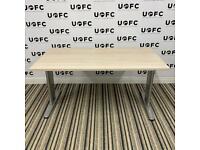 Adjustable Beam Desk in Limed Oak