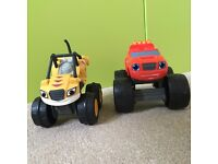 Blaze and the Monster Machines - Blaze and Stripes Friction Trucks