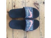 Nike flip flops - size7.5