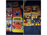 Bundle of Fireman sam dvds