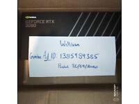 Nvidia Geforce 3080 RTX Founders Edition - BNIB