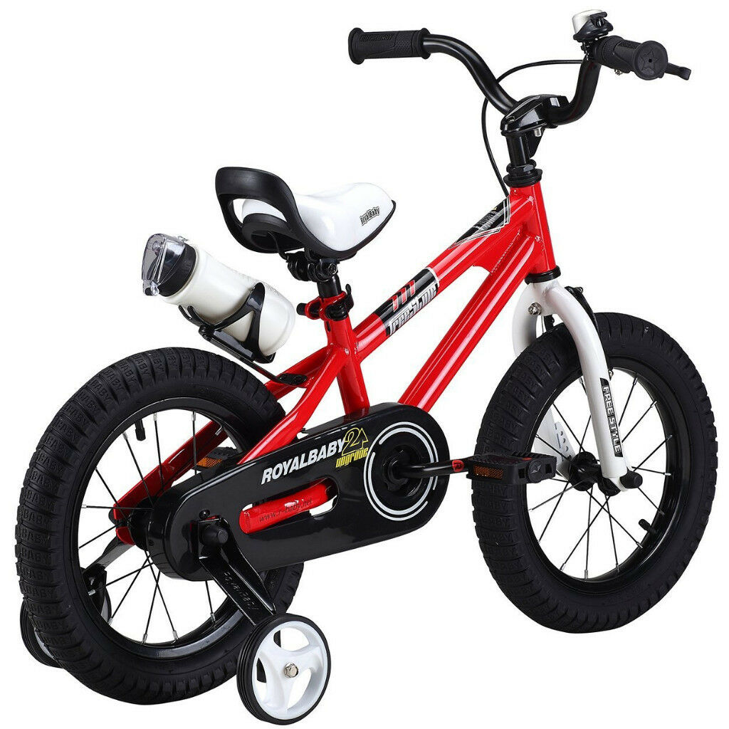 Kids Bike- RoyalBaby BMX Freestyle- Red & White