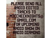 Music artist needed for upcoming radio show