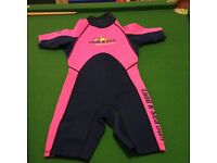Girls wetsuit age 5