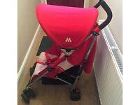 Maclaren Quest Stroller, Scarlet/Wheat