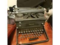 Imperial vintage typewriter