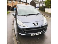 Peugeot 207 low miles full service history