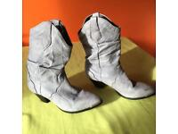 Ladies American soft leather western boots