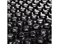 Pool Cover Black 300 cm PE-92154