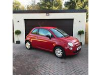 2011 Fiat 500 1.2 Pop Red, Long MOT, Finance, Warranty, Immaculate, Serviced, Valeted, Bargain