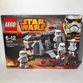 Lego Star Wars Imperial Troop Transport Battle Pack - Unopened