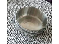 Brand New Clip On Bowl For Dog Cage