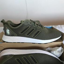 Adidas ZX Flux ADV Khaki Size 10