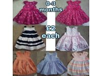 Baby girl clothes Newborn/0-3m/3-6m