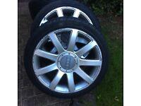 Audi TT Wheels x 4