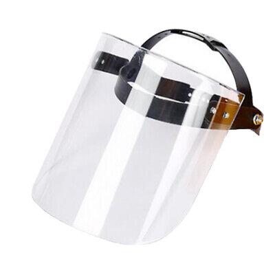 Clear Safety Welding Grinding Mining Full Face Shield Helmet Anti-splash