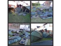 Full carp set up X 2 Complete carp set up for two people..