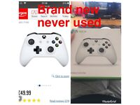 Brand new un used Xbox one controller in box