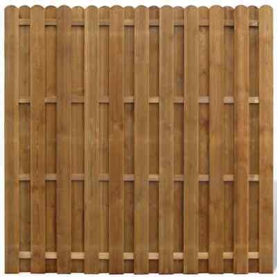 vidaXL Hit and Miss Fence Panel FSC Wood Vertical Garden Patio Border Palisade
