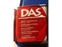Das air drying moulding clay half a packet