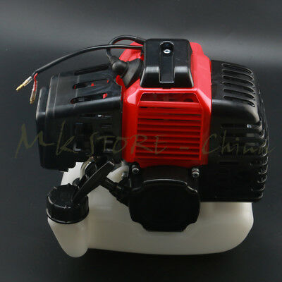 47cc 49cc 2 stroke Pull Start Engine Motor Tank Mini Pocket Scooter Chopper Bike ()