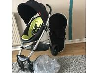 PHIL AND TEDS SMART PUSHCHAIR AND PRAM VGC