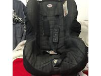 BRITAX CAR SEAT with fixed base.