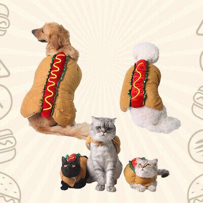Haustier Weihnachten Kostüm Winterjacke Pullover Hunde Hoodie Mantel - XS/S/M/XL