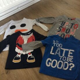 Christmas clothes size 1.5-2years