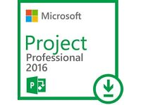 MS Project Professional 2016 - Product Key