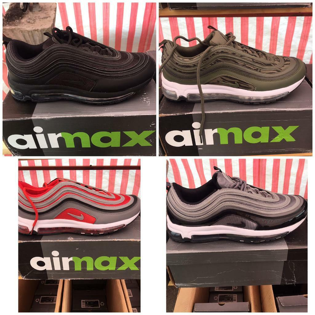 new concept b4c33 ea0a2 NIKE Air 97 97s ALL COLOURS SIZES not 270 vapormax plus flyknit tn 95 gucci  720 | in Greenford, London | Gumtree