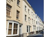 stunning ground and first floor maisonette close Brunswick Square, 2 double bedrooms and patio