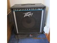 Peavy Basic 60. 60 watt Bass amp in really good order never gigged, home use only
