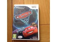 Nintendo Wii Cars 2 game