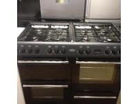 100cm Black Gas Cooker