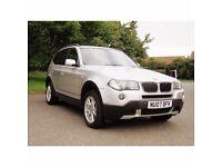 BMW X3 SE, Superb condition, Full service History, 12 Months MoT.