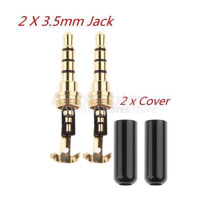 Männlichen Teil (2 Stücke Reparatur Teil Kopfhörer Stecker 3,5 mm Männlich Kopf für)