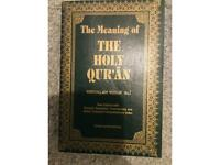 The meaning of the Holley Qur'an