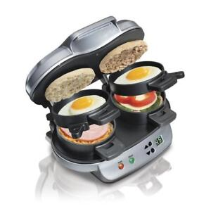 Egg Muffin Toaster Breakfast Burger - no vent needed