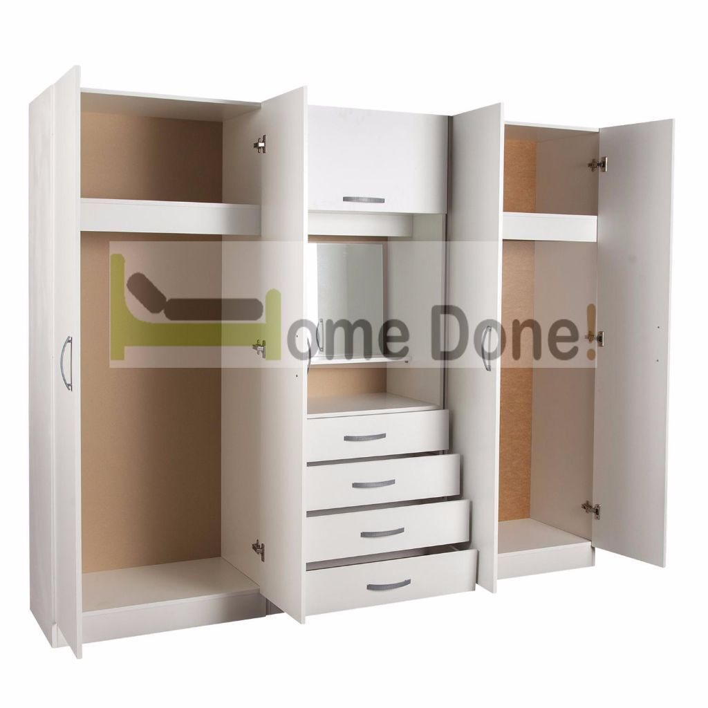 4 Door Assembled Wardrobe Dressing table Mirror chest of drawer   in  Battersea  London   Gumtree. 7 DAY MONEY BACK GUARANTEE      4 Door Assembled Wardrobe Dressing