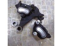 Harley Davidson Dyna brakes