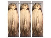 Mobile Luxury Hair Extensions - Tape Ins, microrings, keratin bonds, Microweft, keratin straigtening