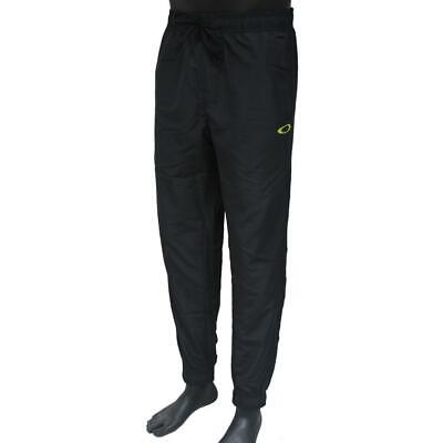 Oakley O Pant Mens Size L Large Black Green Casual Track Running Sport (Oakley Joggers)