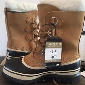 Sorel caribou snow boots UK3.5