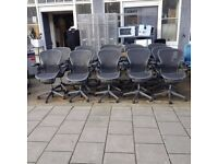 *BULK DISCOUNT* 10 X HERMAN MILLER AERON CHAIRS - MINT CONDITION