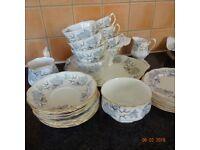 Royal Albert Silver Maple Tea service